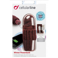 Interphone Cellularline Winter Smart Phone USB Charger Power Inc Pocket - Rose - Interphone -  - MSG BIKE GEAR - 1