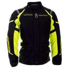 Richa Storm D30 Waterproof Textile Jacket - Black/Fluo