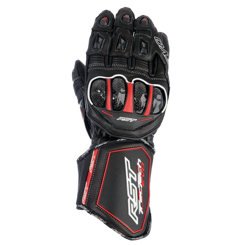 RST TRACTECH EVO CE 2579 LEATHER MOTORCYCLE RACE GLOVES BLACK - RST -  - MSG BIKE GEAR