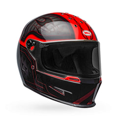 Bell Eliminator Outlaw Full Face Helmet - Black/Red