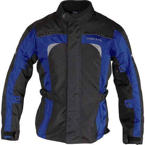 Richa Bolt Waterproof Textile Motorcycle Jacket.Black/Blue - Richa -  - MSG BIKE GEAR - 1