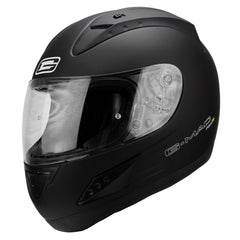 G-Mac Pilot Evo Full Face Helmet - Matt Black