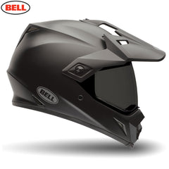 Bell MX-9 Adventure Dual Off & on Road Motorcycle Helmet (Solid Matte Black) - Bell -  - MSG BIKE GEAR