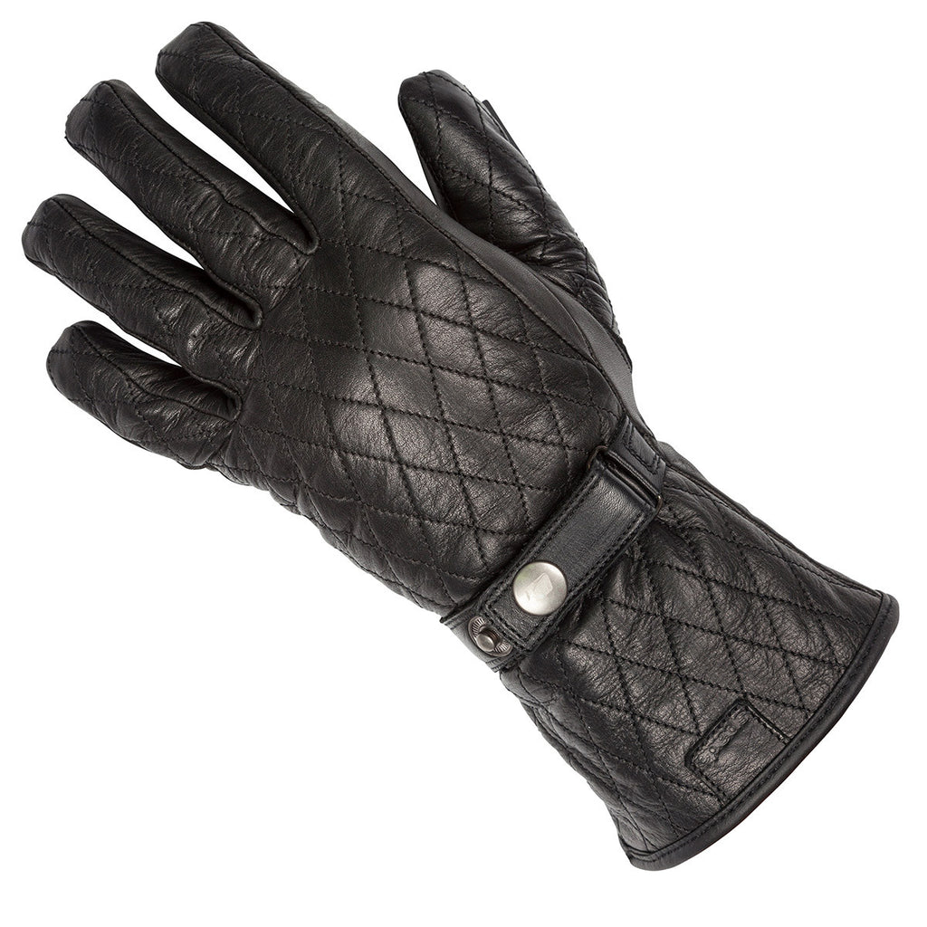 Spada Hartbury WP Motorcycle Motorbike Waterproof Ladies Gloves - Black - Spada -  - MSG BIKE GEAR - 1