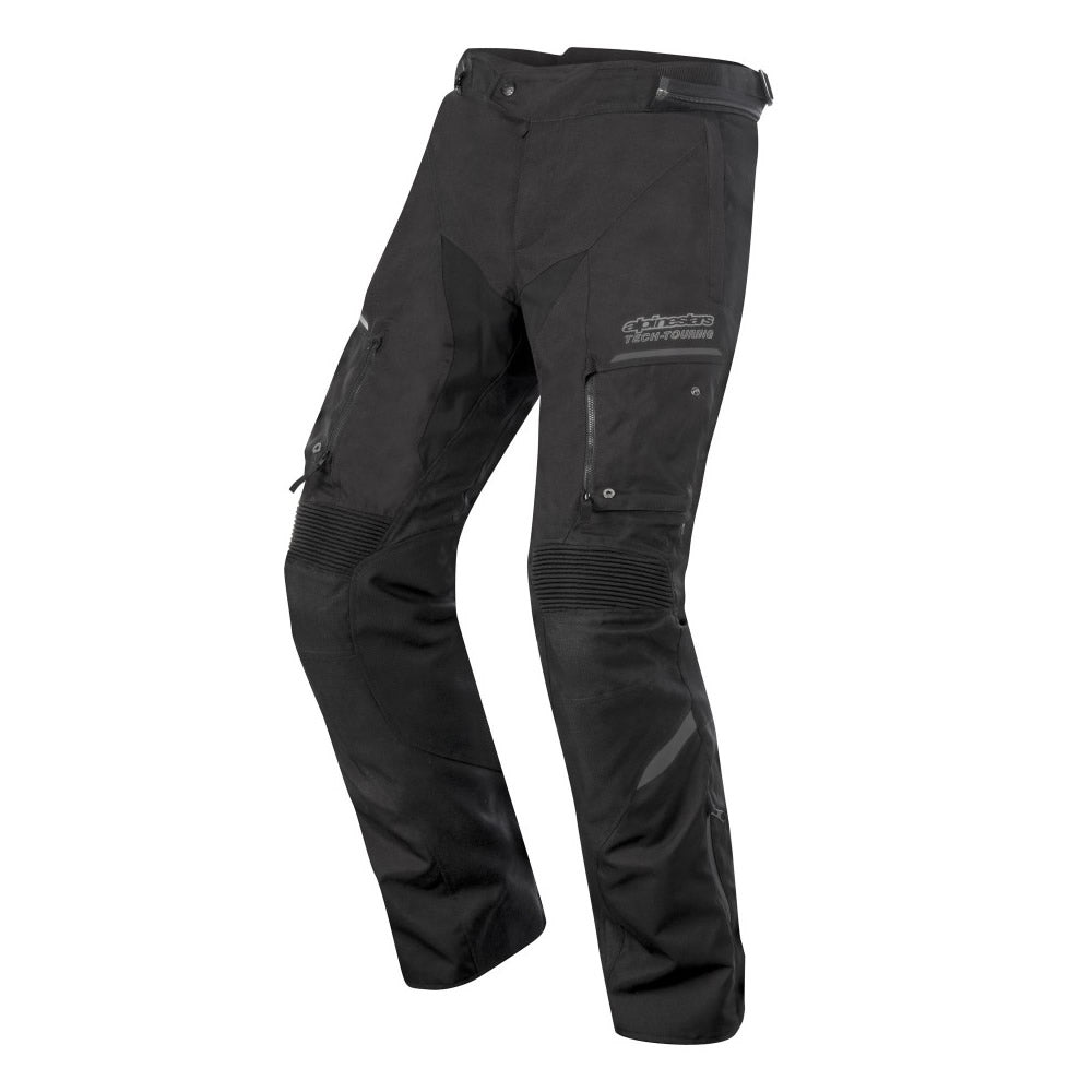 Alpinestars Valparaiso 2 Drystar Waterproof Motorcycle Trousers - Black/Grey - Alpinestars -  - MSG BIKE GEAR - 1