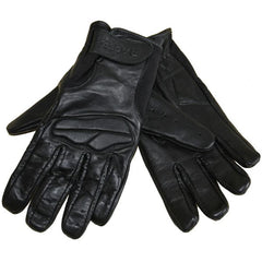 RACER NET MESH LEATHER MOTORCYCLE GLOVES BLACK - RACER -  - MSG BIKE GEAR