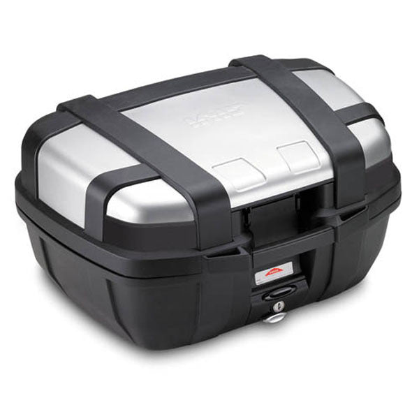 Givi TRK52N Trekker Monokey 52 Litre Motorcycle Top Box - Aluminium Finish