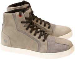 Merlin Tracer Leather Boots - Grey