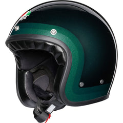 AGV Legends X70 Retro Open Face Helmet - Trofeo Green