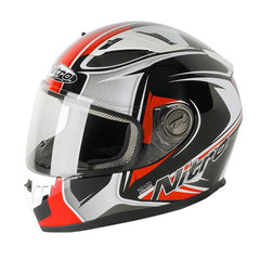Nitro N2100 Full Face Motorbike Motorcycle Helmet - Cypher Red - SALE - Nitro -  - MSG BIKE GEAR