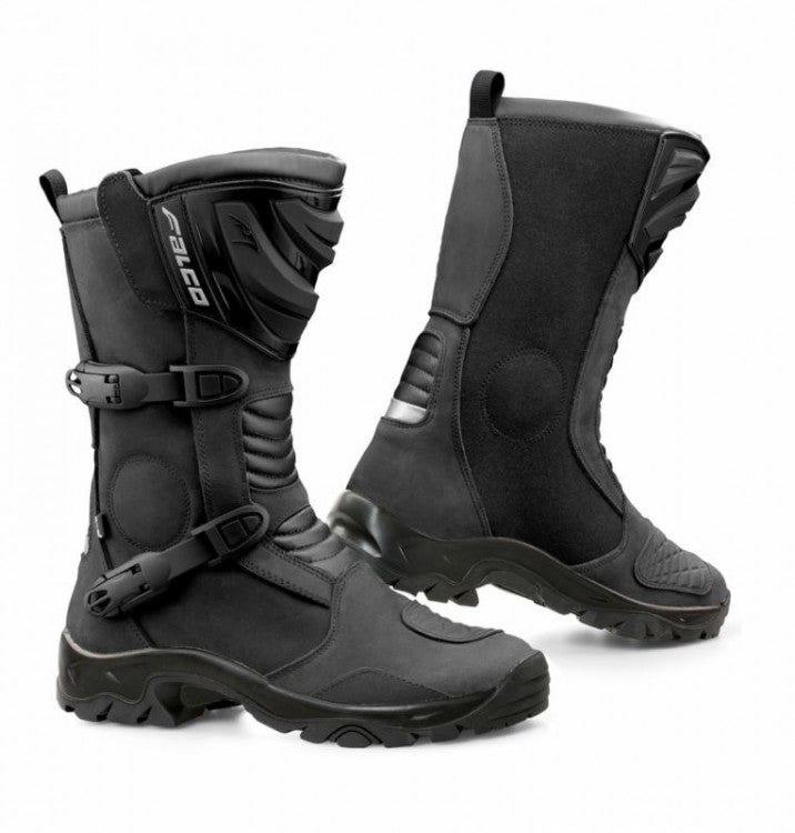 FALCO MIXTO 2 ADVENTURE ENDURO TERRAIN MOTORCYCLE BOOTS BLACK - Falco -  - MSG BIKE GEAR