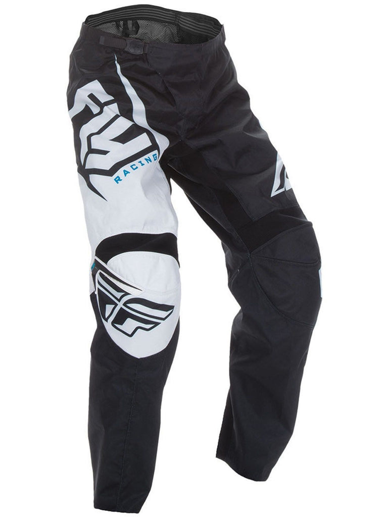 Fly Racing 2017 F-16 Adult MX Pants - White / Black