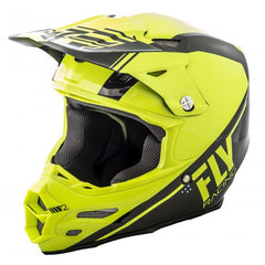 Fly Racing 2018 F2 Carbon Rewire MX Helmet - Hi-Viz / Black
