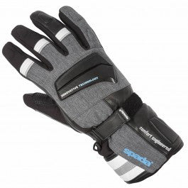 Spada Latour WP Insulated Winter Motorcycle Motorbike Gloves - Black/Grey - Spada -  - MSG BIKE GEAR - 1