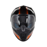 MT Synchrony DS SV Tourer Full Face Helmets - Gloss Black/Orange