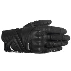Alpinestars Stella Baika Ladies Leather Motorbike Motorcycle Gloves - Black - Alpinestars -  - MSG BIKE GEAR - 1