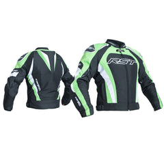 RST 2060 TracTech Evo III Waterproof Textile Jacket - Black/Green