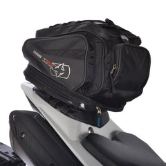 Oxford T30R Motorbike Motorcycle Tail Pack - 30 Litres + Rain Cover Black - Oxford -  - MSG BIKE GEAR
