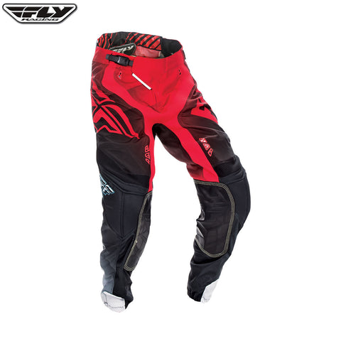 Fly 2017 Lite Hydrogen MX Motocross Downhill MTB BMX Pant - Red/Black/White - Fly Racing -  - MSG BIKE GEAR - 1
