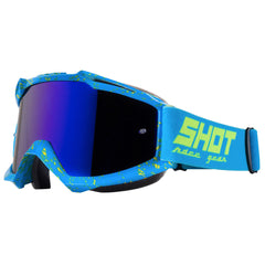"Shot 2018 ""Iris Scratch"" Goggles - Blue / Neon Yellow"