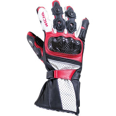 Richa Ravine Sports Race Carbon Fibre Motorcycle Gloves Black/red - Richa -  - MSG BIKE GEAR
