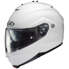 HJC IS-MAX 2/II Flip Front Up Sun Visor Motorbik Motorcycle Helmet - White - HJC -  - MSG BIKE GEAR - 1