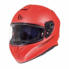 MT Targo Solid Full Face Helmets - Matt Red