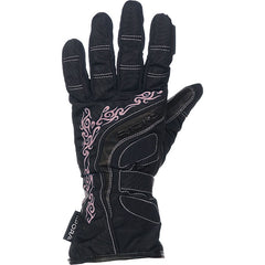 Richa Elegance  Ladies Waterproof Motorcycle Gloves Black/Pink - Richa -  - MSG BIKE GEAR