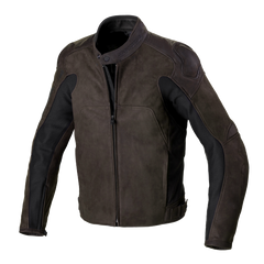 Spidi Evotourer Leather Jacket - Brown