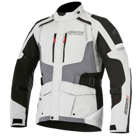 Alpinestars Andes V2 Drystar Waterproof Motorcycle Jacket L.Gry/Black/D.Gry