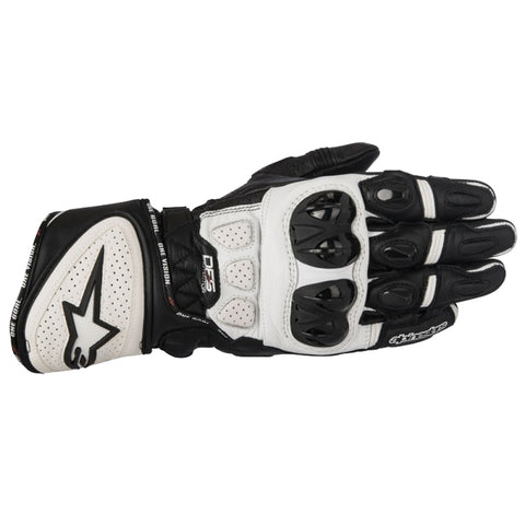 Alpinestars GP Plus-R Sports Track Motorcycle Gloves - Black/White - Alpinestars -  - MSG BIKE GEAR - 1