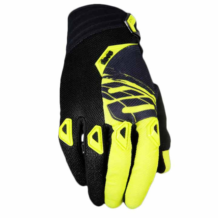 Shot Devo Fast YOUTH MX Off Road Motocross Bike Gloves - Neon Yellow - Shot -  - MSG BIKE GEAR - 1