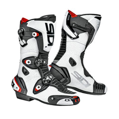 SIDI MAG 1 AIR  MOTORCYCLE CE APPROVED RACE TRACK BOOTS WHITEBLACK - SIDI -  - MSG BIKE GEAR