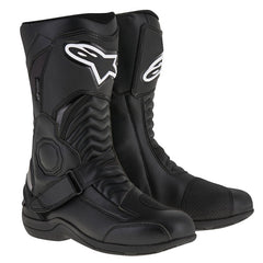 Alpinestars Pikes Drystar Waterproof Touring Commuting Motorcycle Boots - Black - Alpinestars -  - MSG BIKE GEAR - 1