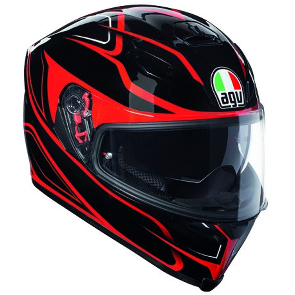 AGV K5-S DVS Full Face Helmet - Magnitude Black / Red