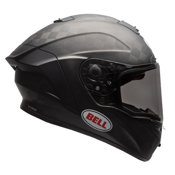 Bell 2017 Pro Star Full Face Carbon Motorcycle Helmet - Solid Matt Black - Bell -  - MSG BIKE GEAR - 1