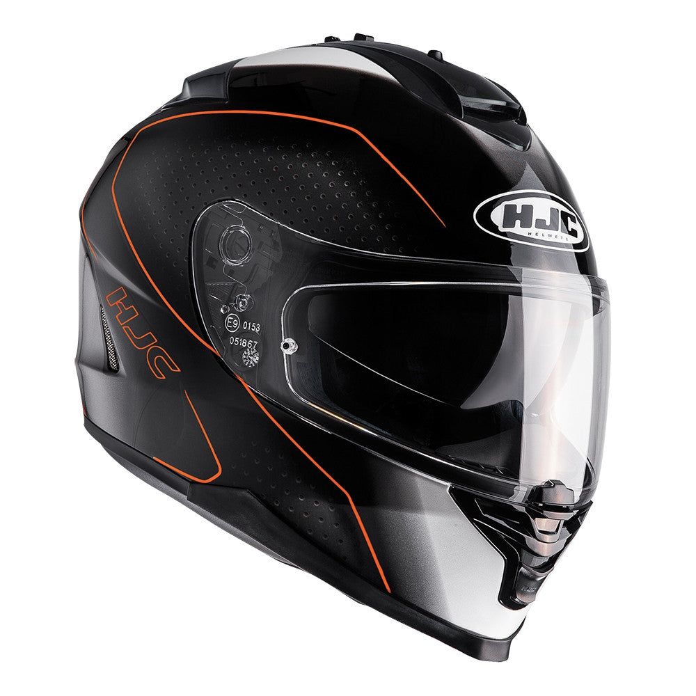 HJC IS-17 Full Face Helmet - Arcus Orange