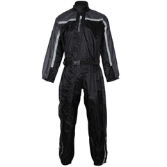 Spada 408 One Piece Waterproof Motorbike Motorcycle Over Suit - Black/Anth - Spada -  - MSG BIKE GEAR - 1
