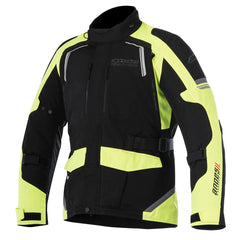 Alpinestars Andes V2 Drystar Waterproof Jacket - Black / Yellow