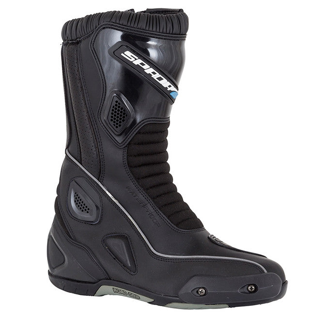 SPADA DRUID ADVENTURE TOURING WATERPROOF MOTORCYCLE BOOTS - BLACK - Spada -  - MSG BIKE GEAR - 1