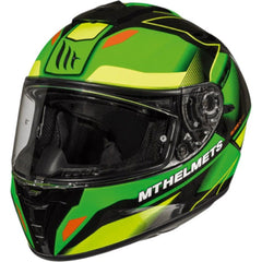 MT Blade 2 SV Fugue Helmet - Flu Green / Flu Yellow