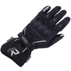 Rukka Suki Ladies Textile Gore-Tex Gloves - Black/Silver