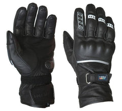 RUKKA APPOLLO GTX GORETEX WATERPROOF LEATHER TEXTILE MOTORCYCLE GLOVES BLACK - RUKKA -  - MSG BIKE GEAR - 1
