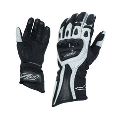 RST 2085 R-18 Leather Sports Gloves - White