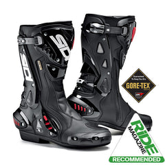 SIDI ST GORETEX BLACK MOTORCYCLE SPORTS RACE BOOTS + FREE SOCKS - SIDI -  - MSG BIKE GEAR - 1