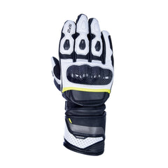 Oxford RP-2 2.0 Leather Gloves - Black, White, Fluo