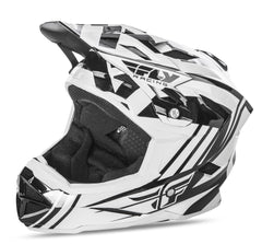 Fly 2017 Bike Default MTB Downhill BMX Full Face Adult Helmet White/Black - Fly Racing -  - MSG BIKE GEAR - 1