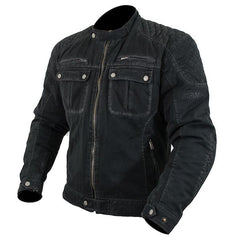 ARMR Aban Waterproof Textile Motorcycle Jacket - Black