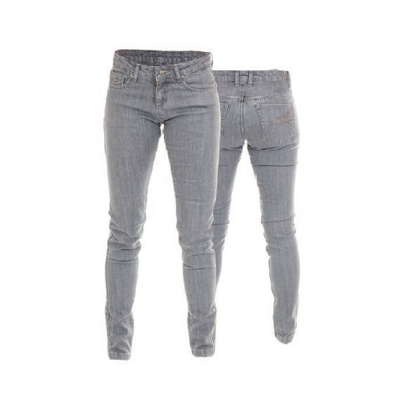 RST 2220 ARAMID STRAIGHT LADIES MOTORCYCLE JEANS GREY - RST -  - MSG BIKE GEAR - 1