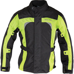 Richa BOLT Waterproof Motorcycle Textile Ladies Jacket Black/Fluo Yellow - Richa -  - MSG BIKE GEAR